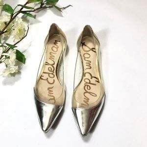 "Sam Edelman ""Isabella"" Pointed Toe Flat Shoes"